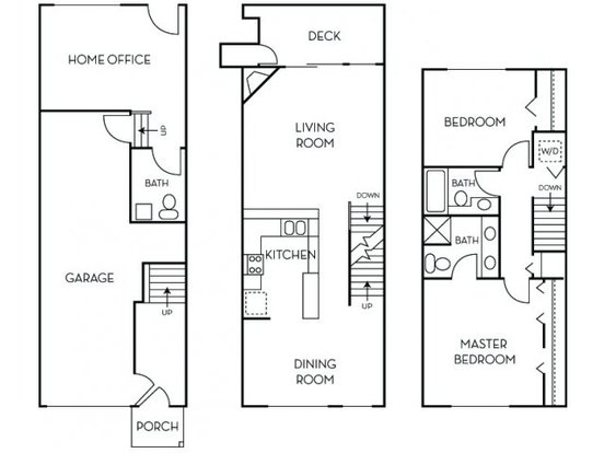 2 Bedrooms 2 Bathrooms Apartment for rent at Lions Gate North in Redmond, WA