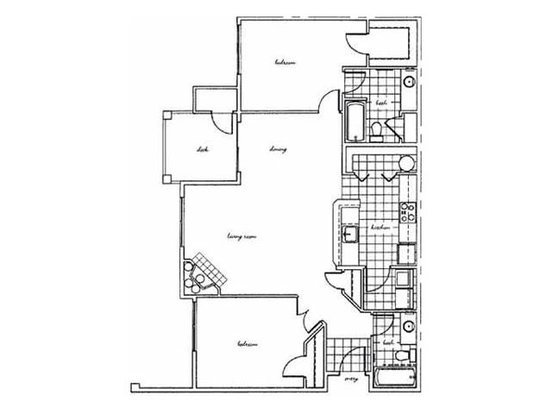 2 Bedrooms 2 Bathrooms Apartment for rent at Bella Vista in Renton, WA