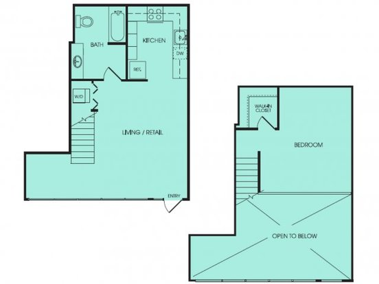 1 Bedroom 1 Bathroom Apartment for rent at Viva in Seattle, WA
