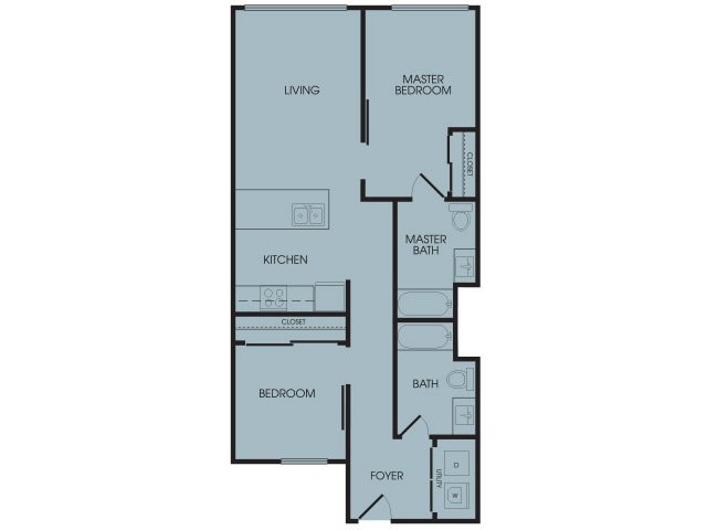 2 Bedrooms 2 Bathrooms Apartment for rent at Broadstone Infinity in Seattle, WA