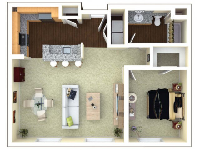1 Bedroom 1 Bathroom Apartment for rent at Elements in San Jose, CA