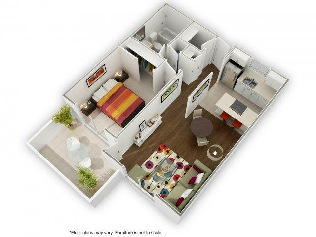 1 Bedroom 1 Bathroom Apartment for rent at Sierrabrook in San Jose, CA