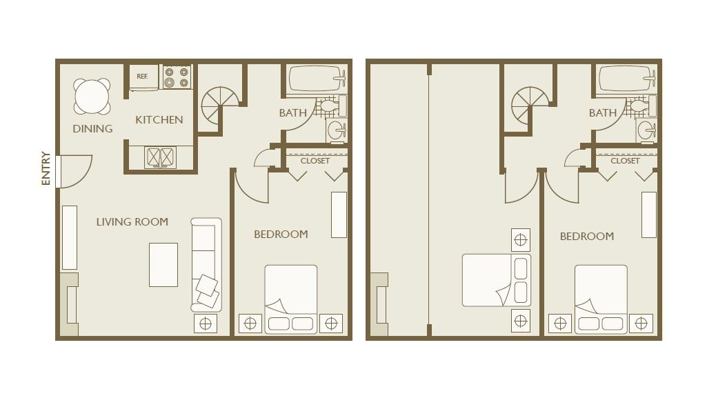 3 Bedrooms 2 Bathrooms Apartment for rent at Skyline View in Aurora, CO