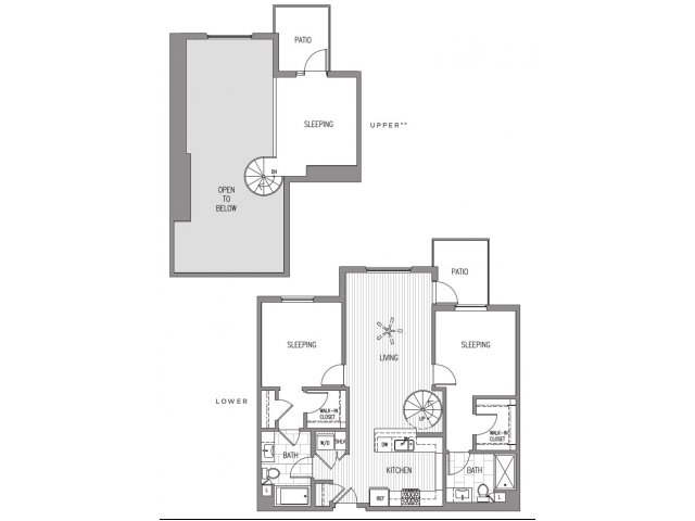 2 Bedrooms 2 Bathrooms Apartment for rent at Broadstone Little Italy in San Diego, CA
