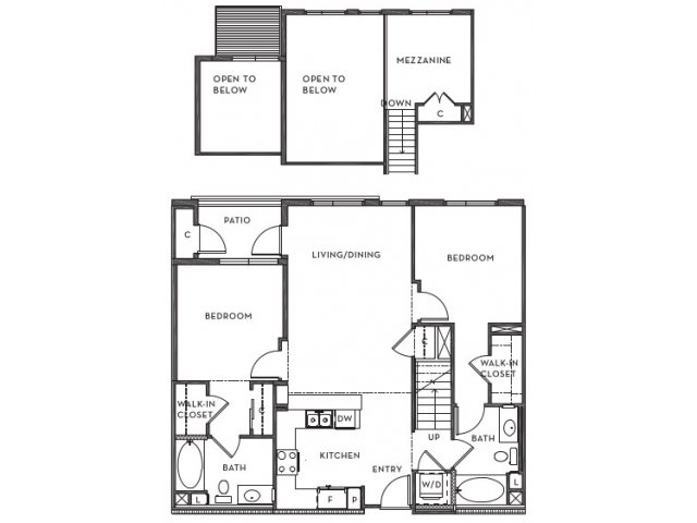 2 Bedrooms 2 Bathrooms Apartment for rent at 201 Marshall Apartments in Redwood City, CA