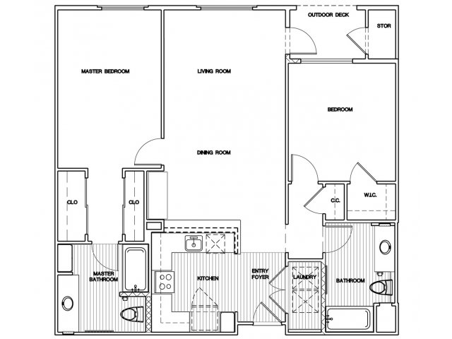 2 Bedrooms 2 Bathrooms Apartment for rent at Elements in San Jose, CA