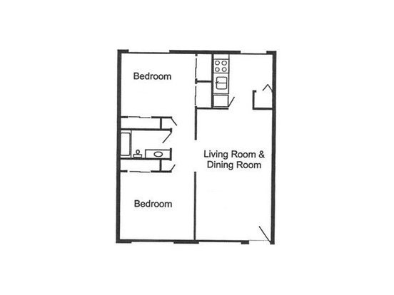 2 Bedrooms 1 Bathroom Apartment for rent at Tierra Sol in Tucson, AZ