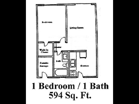 1 Bedroom 1 Bathroom Apartment for rent at Zona Village in Tucson, AZ