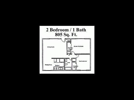 2 Bedrooms 1 Bathroom Apartment for rent at Zona Village in Tucson, AZ