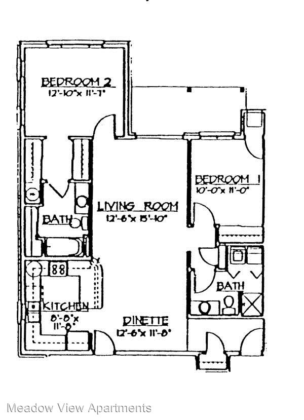 2 Bedrooms 2 Bathrooms Apartment for rent at 235-333 Ledgewood Drive in Fond Du Lac, WI