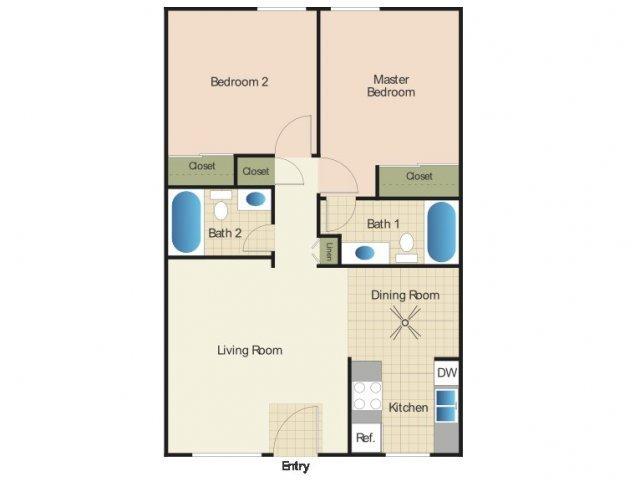 2 Bedrooms 2 Bathrooms Apartment for rent at Elan Summit At Alpine in Alpine, CA