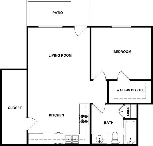 1 Bedroom 1 Bathroom Apartment for rent at Elan Poway Hills in Poway, CA