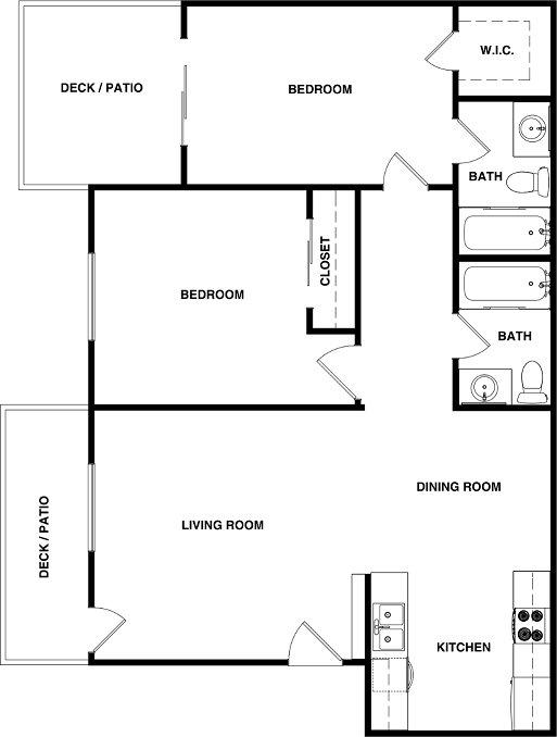 2 Bedrooms 2 Bathrooms Apartment for rent at Elan Poway Hills in Poway, CA