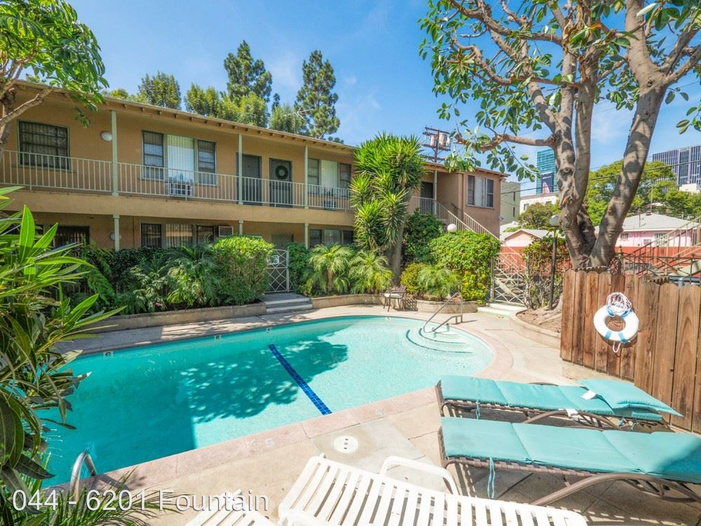 1 Bedroom 1 Bathroom Apartment for rent at 6201 Fountain Ave. in Los Angeles, CA
