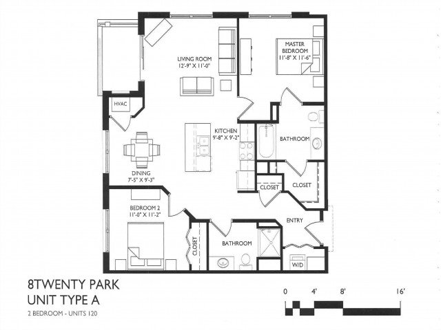 2 Bedrooms 2 Bathrooms Apartment for rent at 8 Twenty Park in Madison, WI