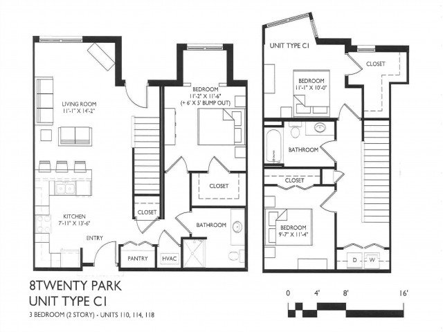 3 Bedrooms 3 Bathrooms Apartment for rent at 8 Twenty Park in Madison, WI