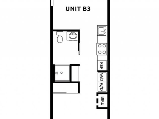Studio 1 Bathroom Apartment for rent at Division Street Lofts in Portland, OR