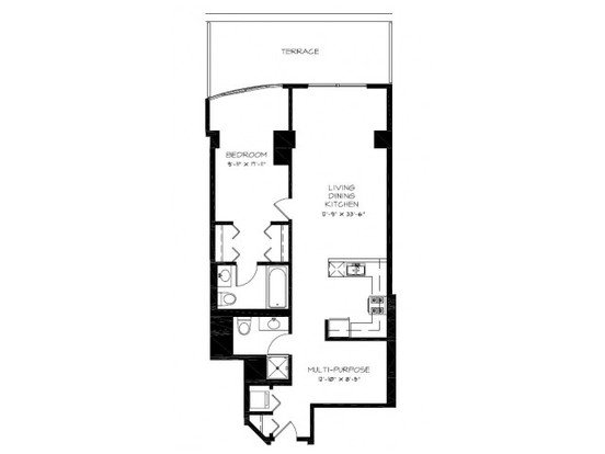 1 Bedroom 2 Bathrooms Apartment for rent at Astoria Tower in Chicago, IL