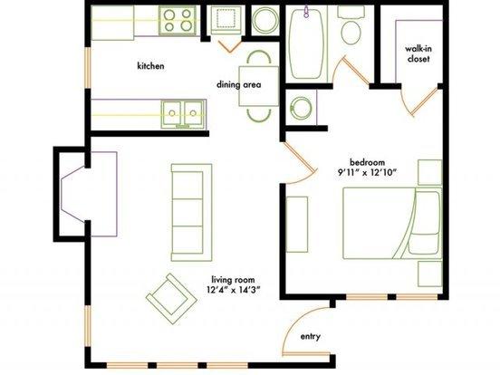 1 Bedroom 1 Bathroom Apartment for rent at Shadowood Apartments in Chapel Hill, NC