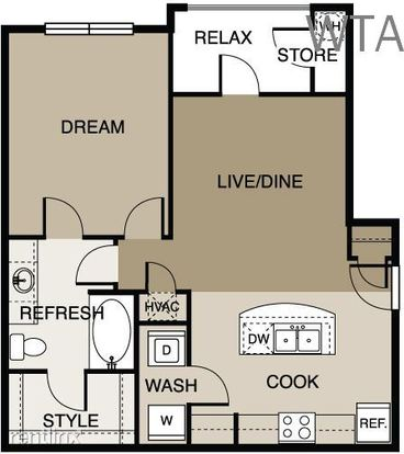 1 Bedroom 1 Bathroom House for rent at Lake Travis in Austin, TX