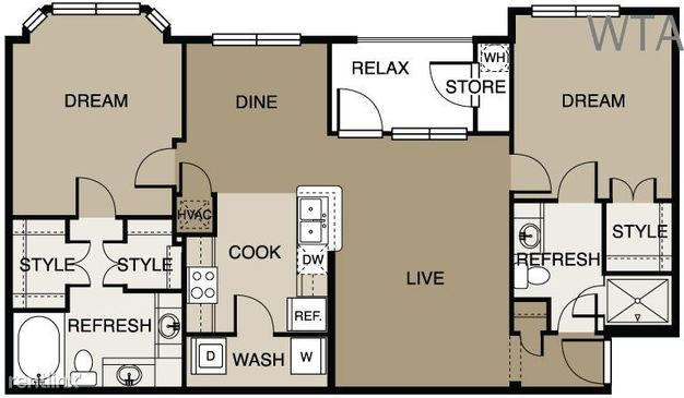 2 Bedrooms 2 Bathrooms House for rent at Lake Travis in Austin, TX