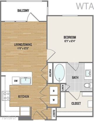 1 Bedroom 1 Bathroom House for rent at Wells Branch/ Mopac in Austin, TX