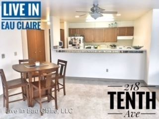 3 Bedrooms 2 Bathrooms Apartment for rent at 218 10th Avenue in Eau Claire, WI