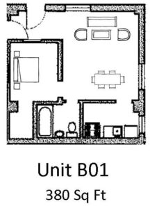 1 Bedroom 1 Bathroom Apartment for rent at The Anderson Building in Omaha, NE