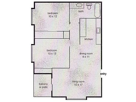 2 Bedrooms 2 Bathrooms Apartment for rent at Broadway Center Apartment in Eugene, OR