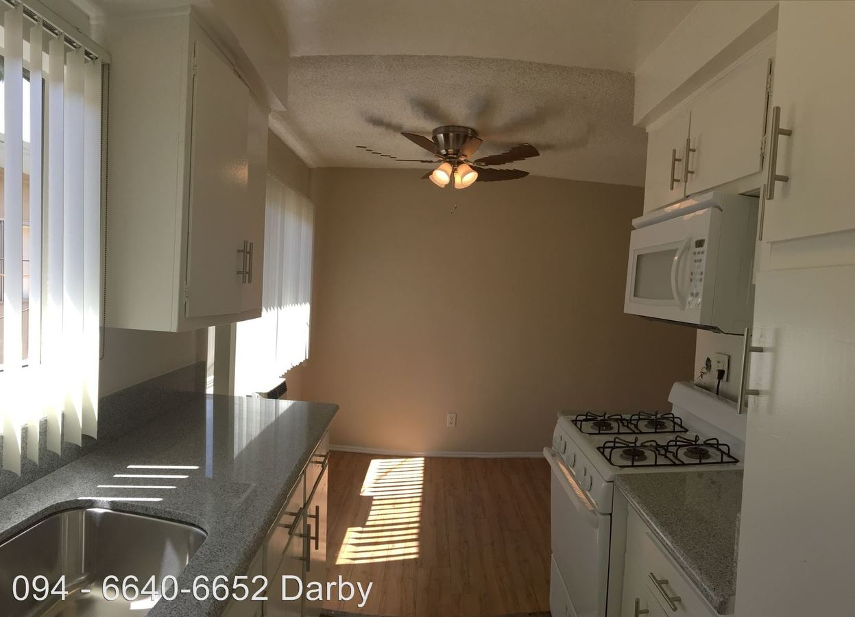2 Bedrooms 2 Bathrooms Apartment for rent at 6640-6652 Darby Ave. in Reseda, CA