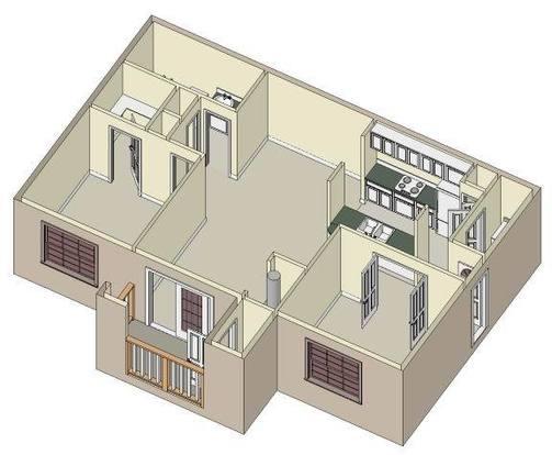 1 Bedroom 1 Bathroom Apartment for rent at Kensington Park in Corinth, TX