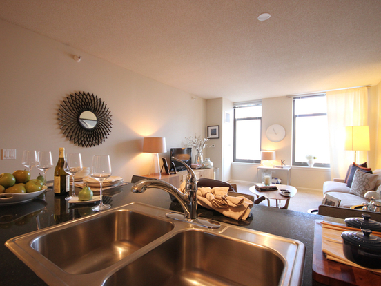 2 Bedrooms 2 Bathrooms Apartment for rent at 353 North Desplaines Street in Chicago, IL