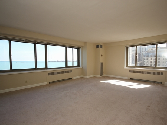 2 Bedrooms 2 Bathrooms Apartment for rent at 1350 North Lake Shore Drive in Chicago, IL