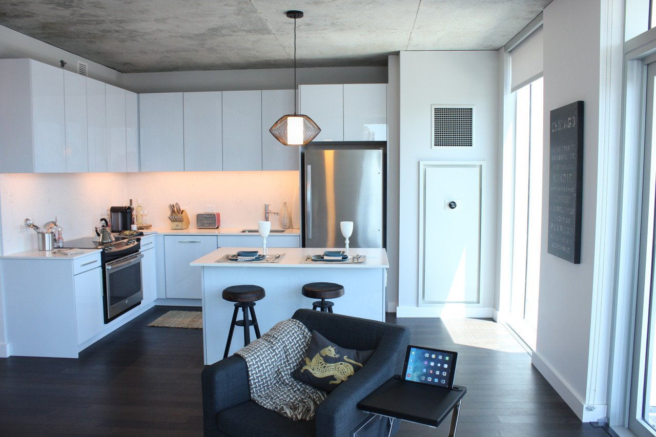 2 Bedrooms 2 Bathrooms Apartment for rent at The Jones in Chicago, IL