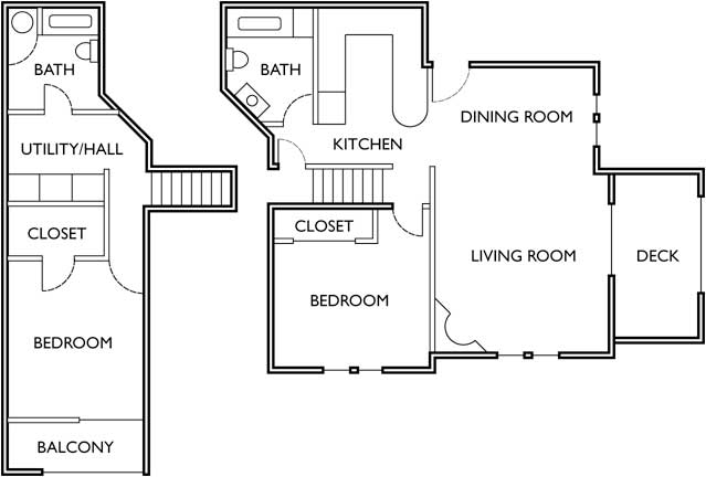 2 Bedrooms 2 Bathrooms Apartment for rent at Mckenna Estates in Eugene, OR