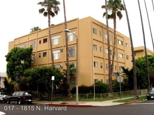 Studio 1 Bathroom Apartment for rent at 1815 N. Harvard Blvd. in Los Angeles, CA