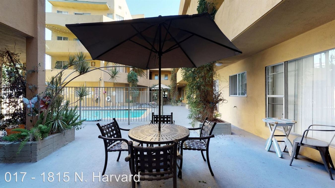 2 Bedrooms 2 Bathrooms Apartment for rent at 1815 N. Harvard Blvd. in Los Angeles, CA