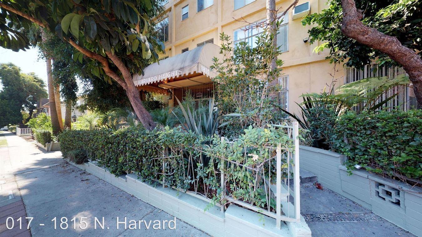 1 Bedroom 1 Bathroom Apartment for rent at 1815 N. Harvard Blvd. in Los Angeles, CA