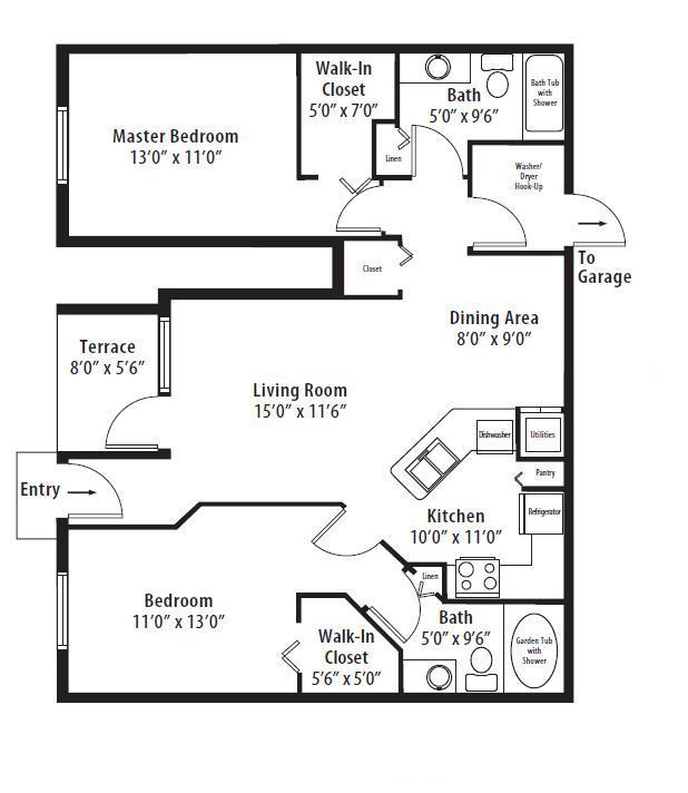 2 Bedrooms 2 Bathrooms Apartment for rent at Springs At Bandera in San Antonio, TX
