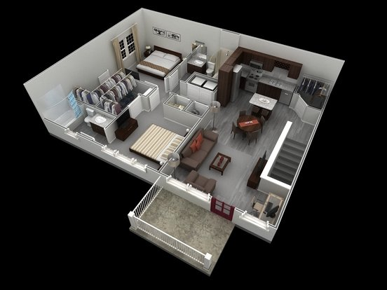 2 Bedrooms 2 Bathrooms Apartment for rent at Springs At West Chester in West Chester, OH