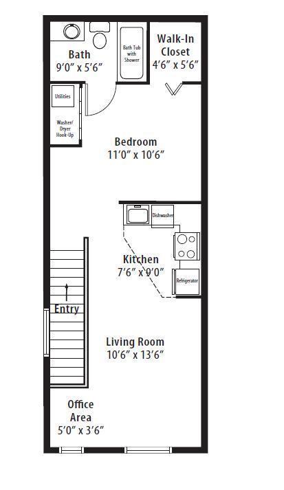 Studio 1 Bathroom Apartment for rent at Springs At Bandera in San Antonio, TX