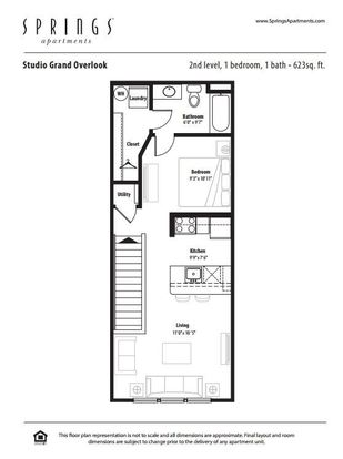 Studio 1 Bathroom Apartment for rent at Springs At Creekside in New Braunfels, TX