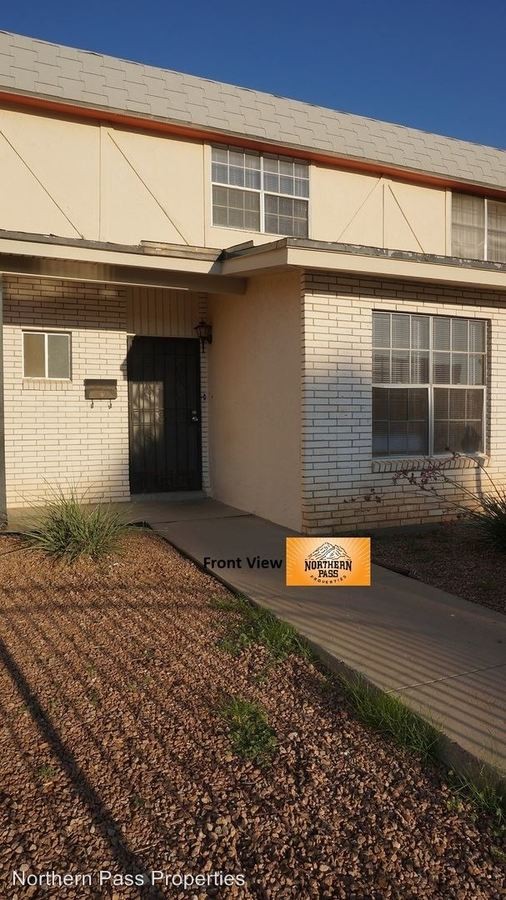 3 Bedrooms 1 Bathroom Apartment for rent at 10009 Rushing Rd in El Paso, TX