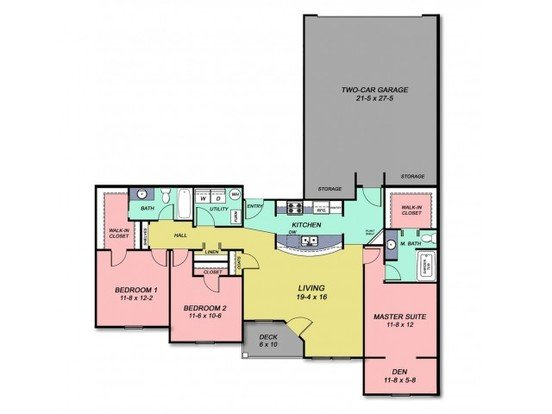 3 Bedrooms 2 Bathrooms Apartment for rent at Cobblestone Crossings in Terre Haute, IN