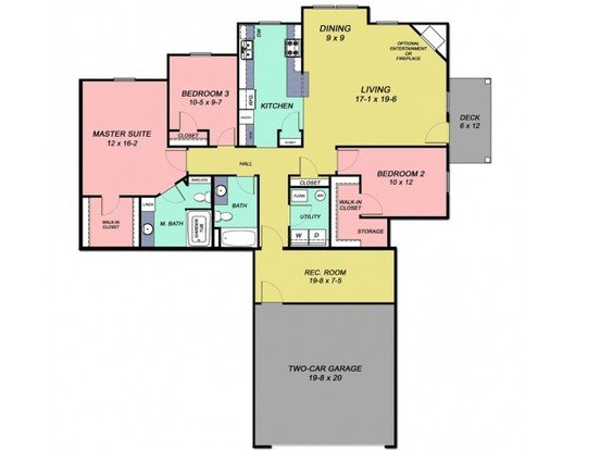 3 Bedrooms 2 Bathrooms Apartment for rent at Cobblestone Crossings in Terre Haute, IN