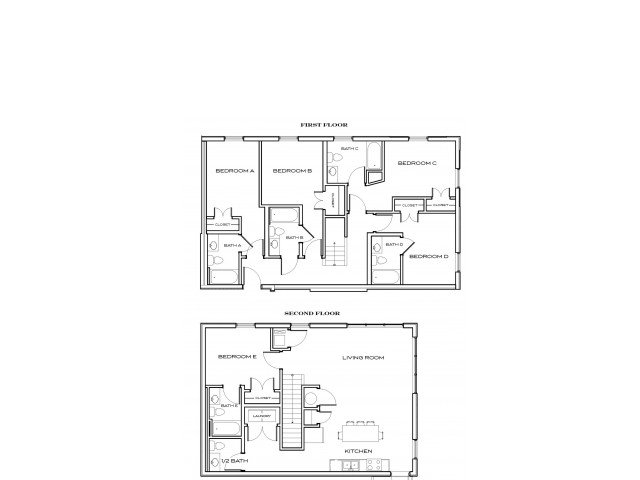 5 Bedrooms 4+ Bathrooms Apartment for rent at The Standard At Knoxville in Knoxville, TN