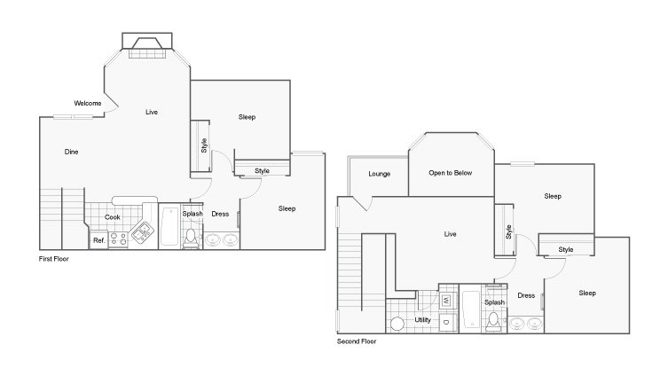 4 Bedrooms 2 Bathrooms Apartment for rent at The Hub At Auburn Apartment Homes in Auburn, AL