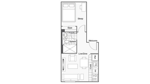 2 Bedrooms 1 Bathroom Apartment for rent at Icon Student Spaces in St Louis, MO