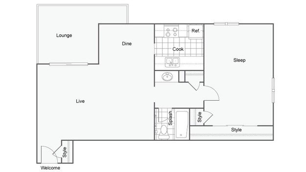1 Bedroom 1 Bathroom Apartment for rent at 800 Penn in Denver, CO