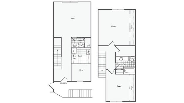 2 Bedrooms 1 Bathroom Apartment for rent at The Hinsdale Apartment Homes in Hinsdale, IL